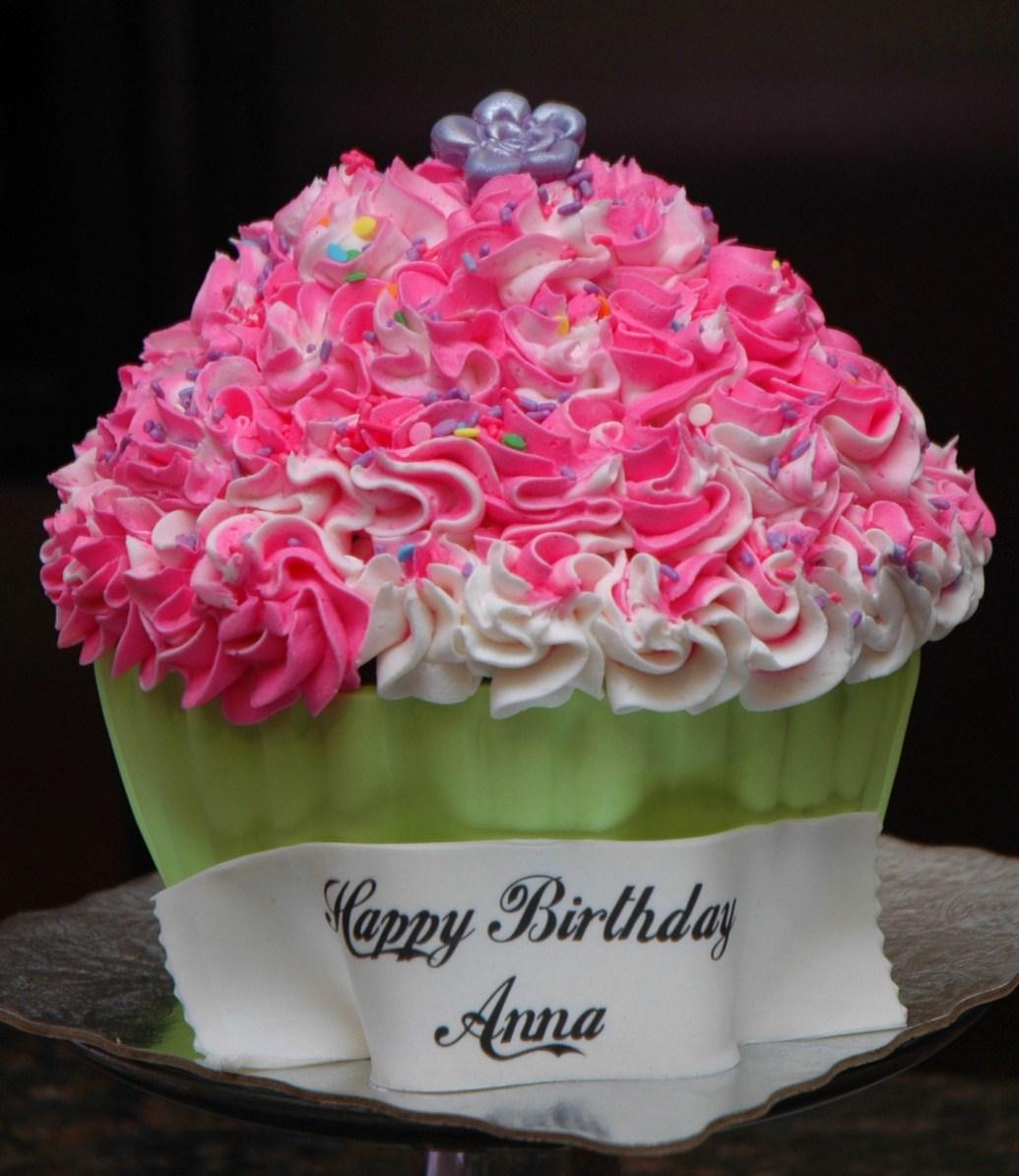 Big Cupcake Cake