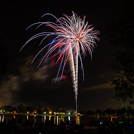4th of July Fireworks by Mike Vaughn - Public Holidays July 4th