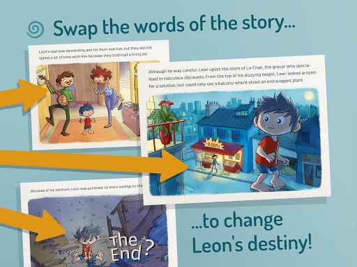 SwapTales: Leon! screenshot 2