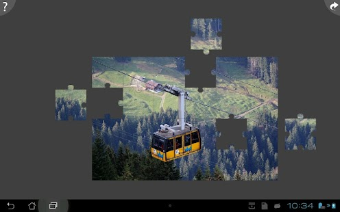 Cable Car Jigsaw Puzzle - screenshot