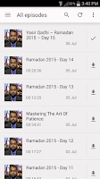 Screenshot of Yasir Qadhi