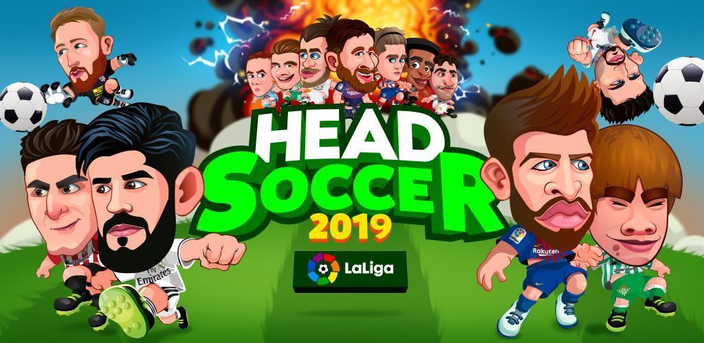 Resultado de imagem para Head Soccer LaLiga 2019