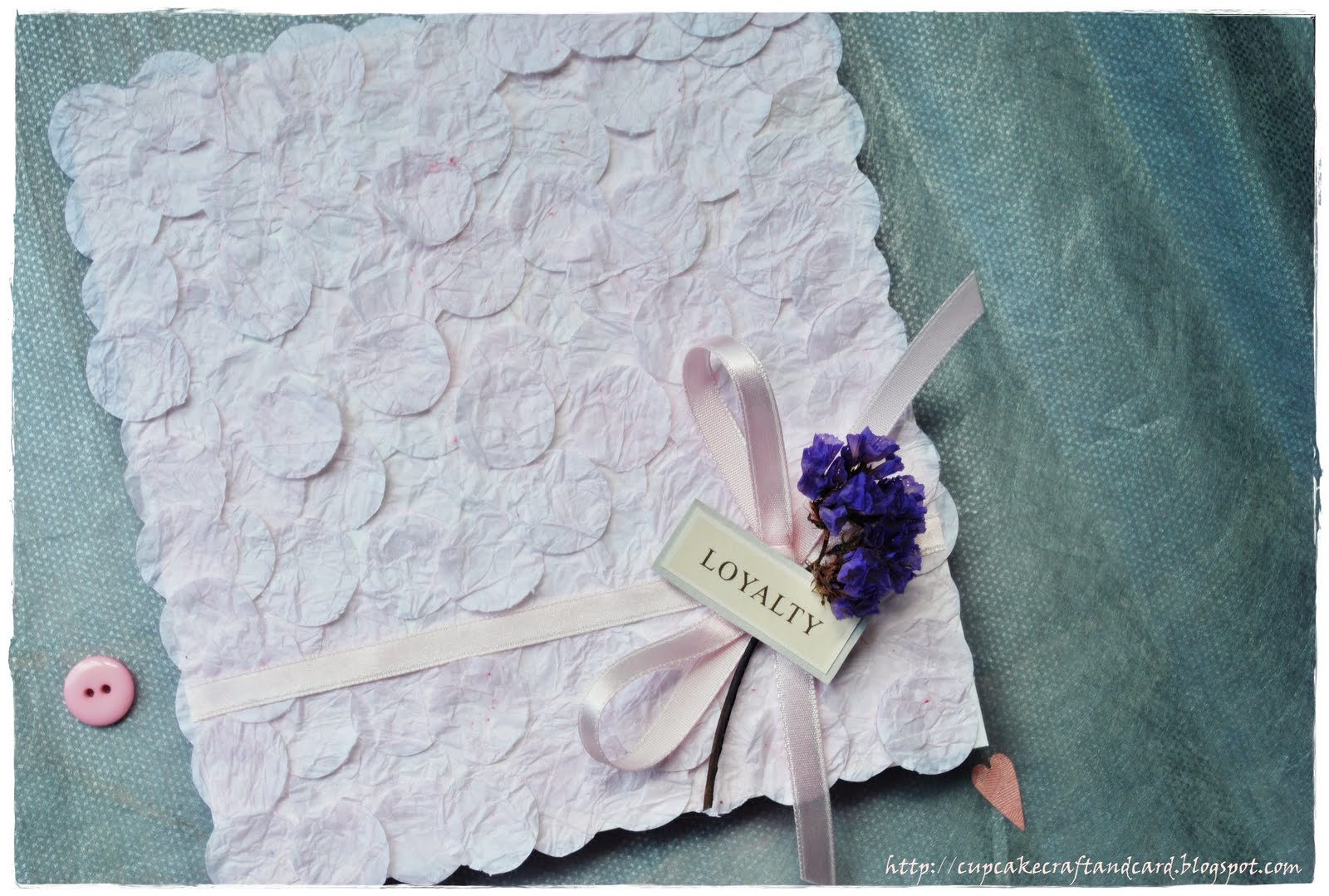 Handmade Card Wedding Wishes