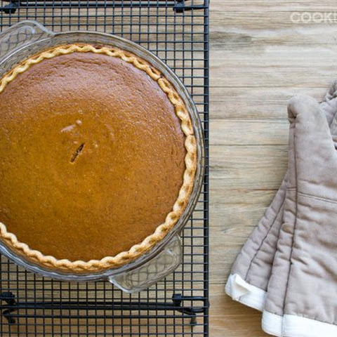 Classic Pumpkin Pie Recipe with Bourbon Whipped Cream