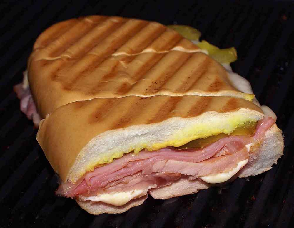 Mixto Sandwich (Cuban Sandwich)