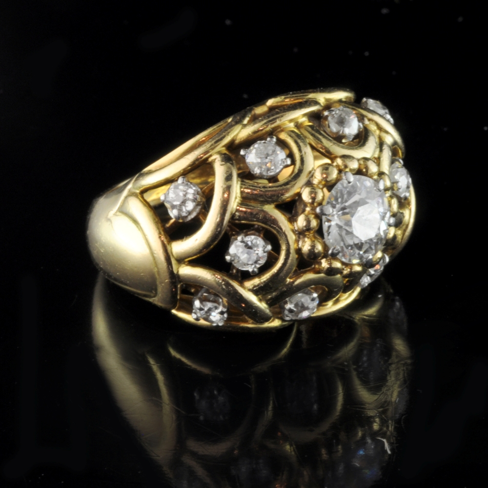 cartier 1895 diamon ring