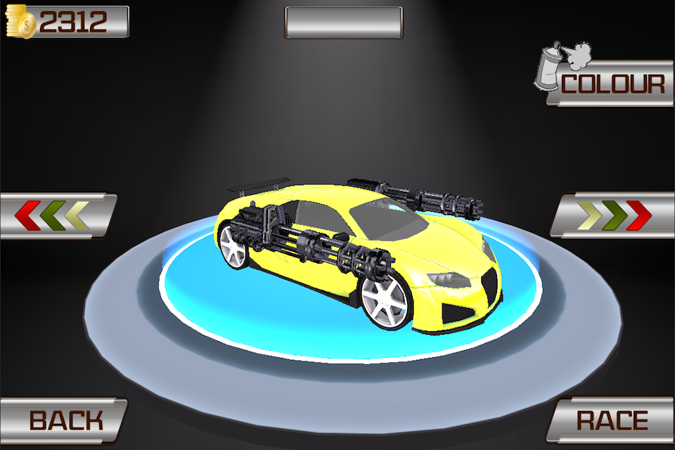 Extreme Crazy Car Racing Game Screenshot 2