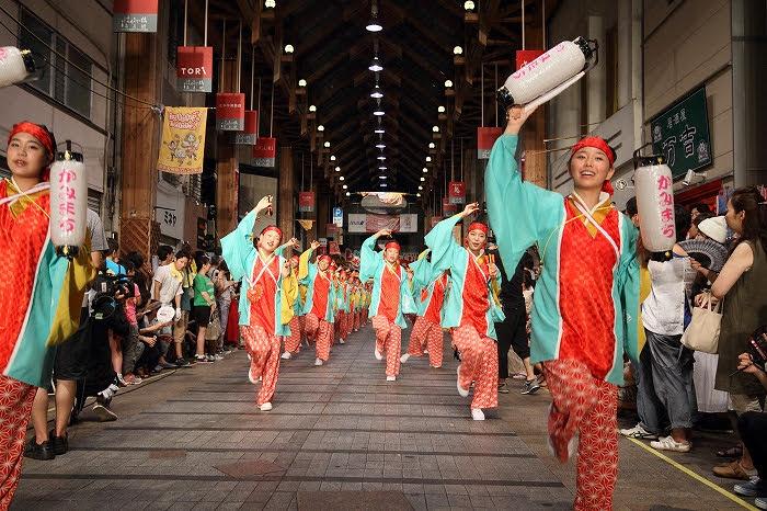 第61回よさこい祭り☆本祭2日目・はりまや橋競演場29☆上1目1447