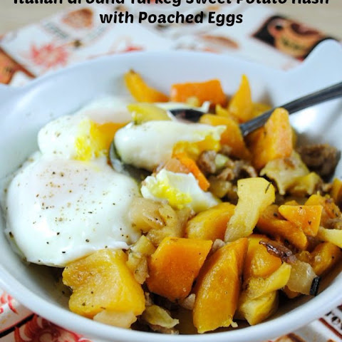 Italian Ground Turkey, Butternut Squash and Apple Hash