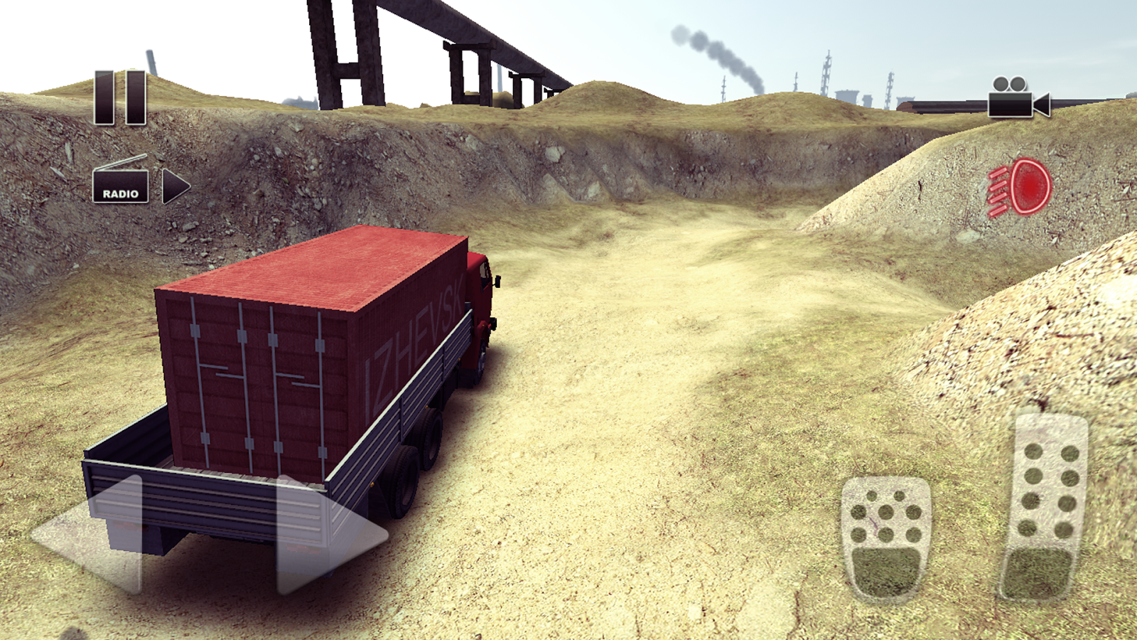Truck Driver crazy road Screenshot 2