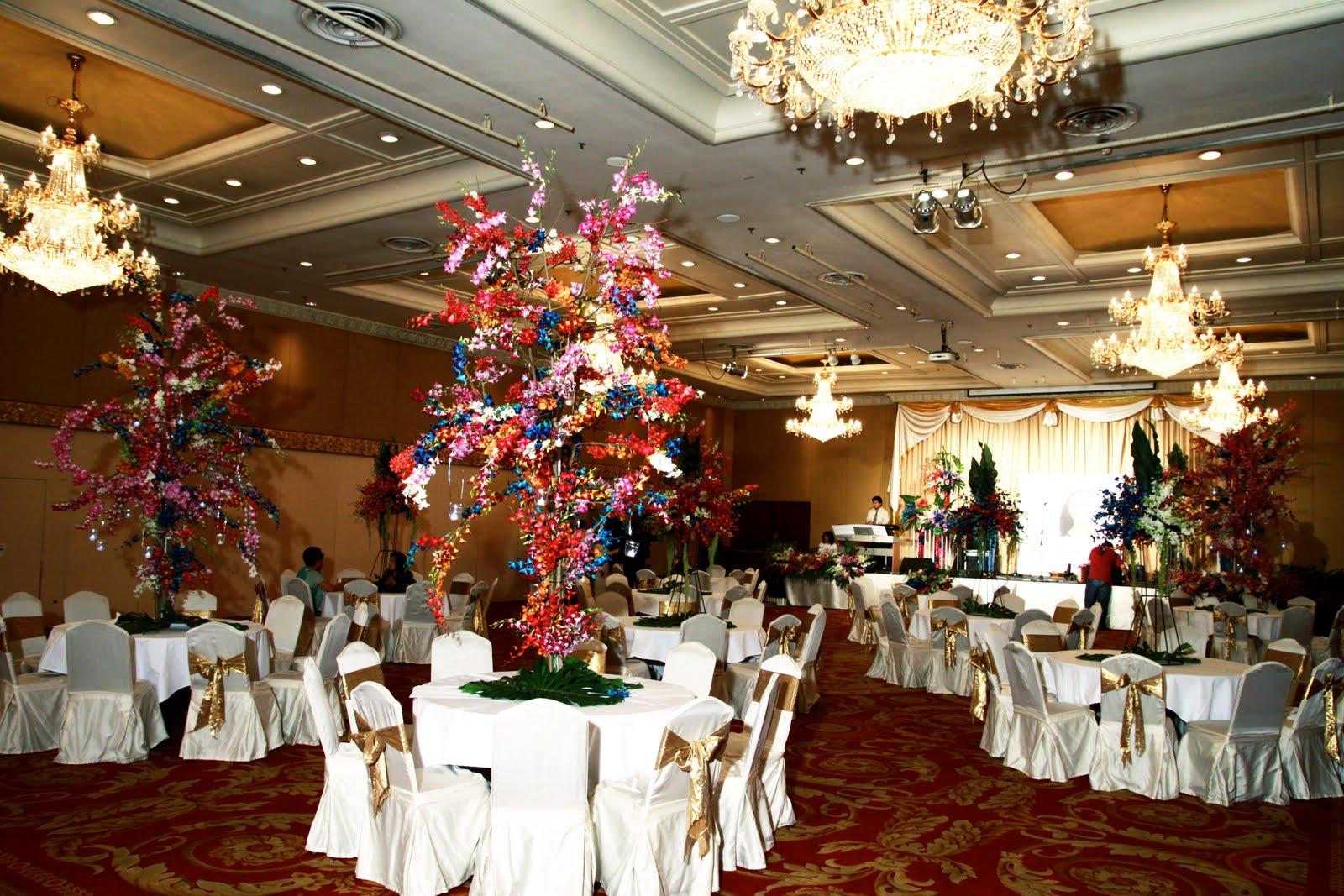 Thai wedding reception dinners