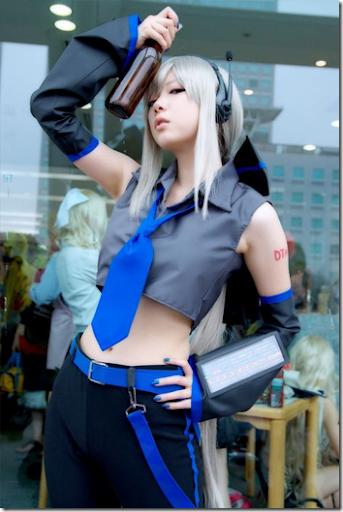vocaloid cosplay - yowane haku