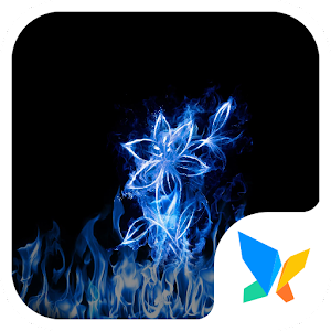 Download free Flame flowers 91 Launcher Theme for PC on Windows and Mac