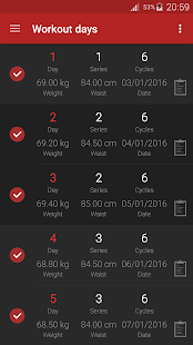 Abs workout PRO Fitness app screenshot for Android
