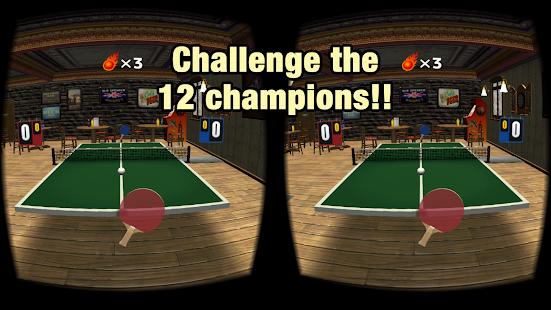 VR Swing Table Tennis Oculus apk screenshot