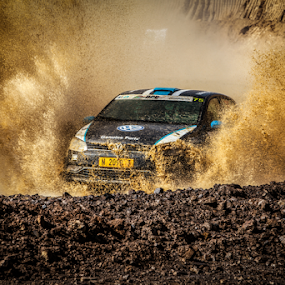 Splash06 by Johan Niemand - Sports & Fitness Motorsports ( water, car, rally, mud, motorsport, dirt, race )