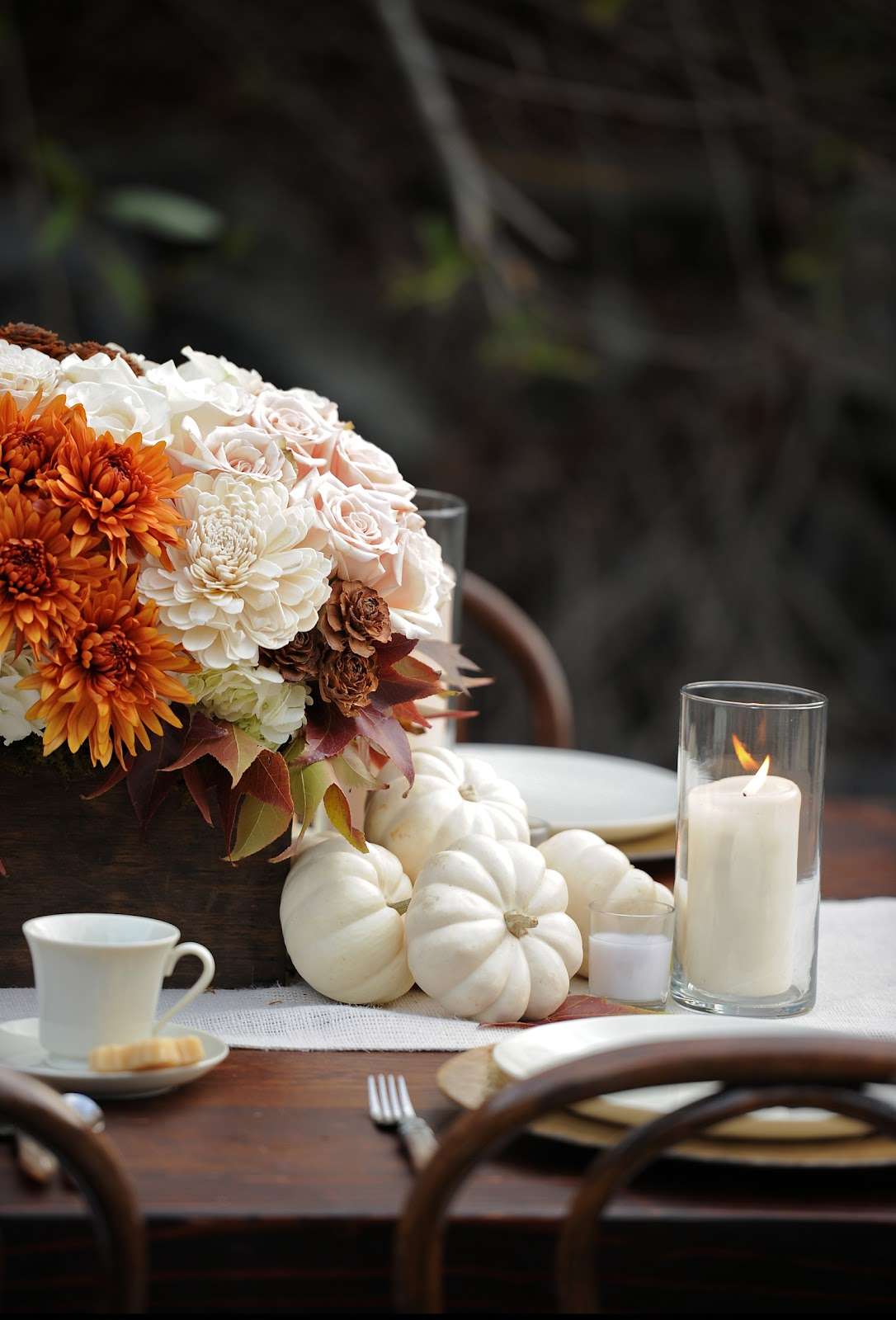 Veves Blog Autumn Wedding Centerpieces Image Sources Clockwise
