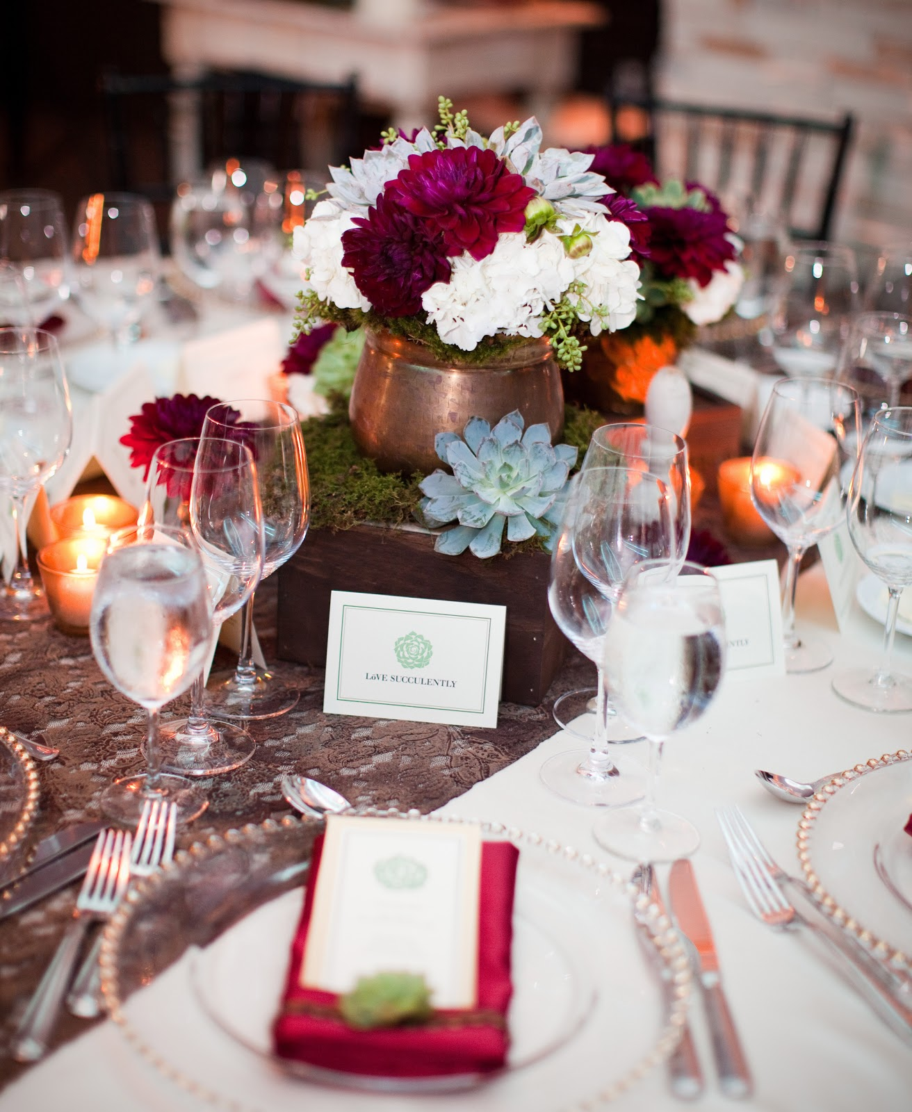 Shakia S Blog Romantic Wedding Centerpieces