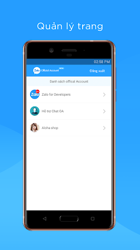 Zalo OA Admin screenshot 5