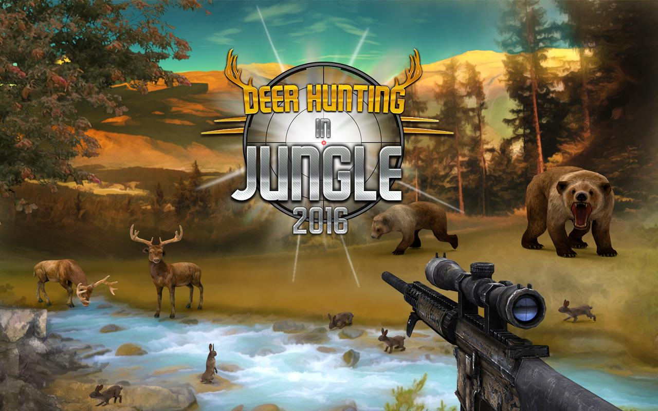 Deer Hunting in Jungle 2016 Screenshot 0