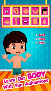 Learning Body Parts for Babies - screenshot