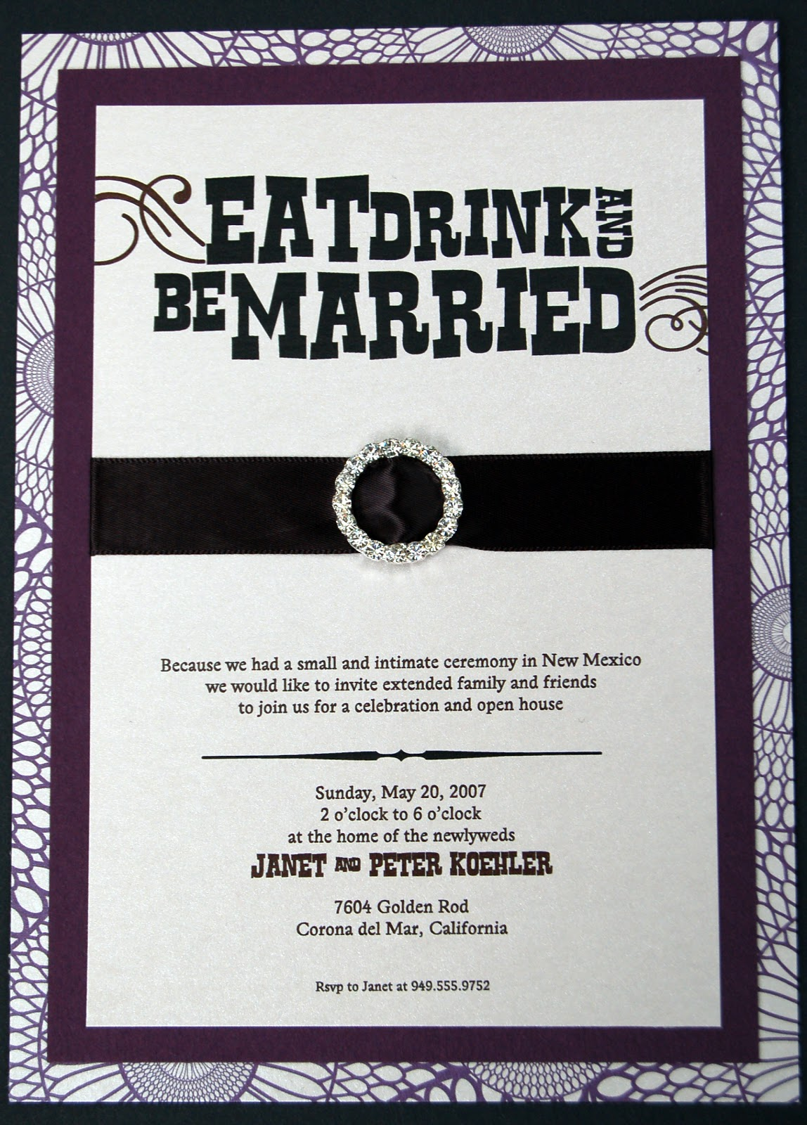 Tana\'s blog: Fun Wedding Invitation Wording