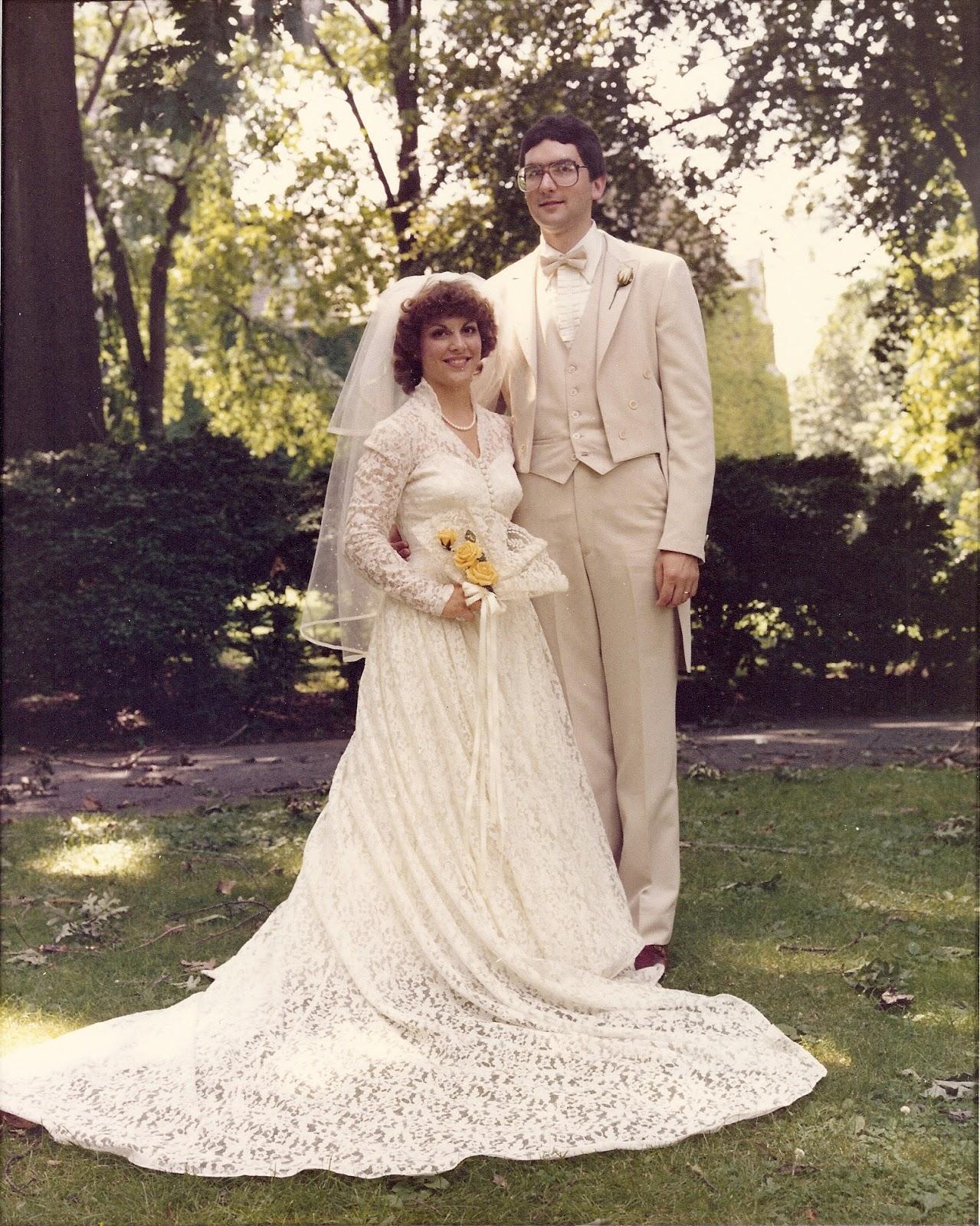 My wedding dress was found in