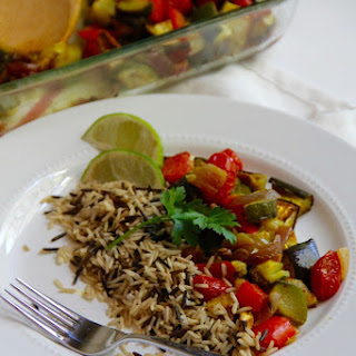 Curried Ratatouille with Rice