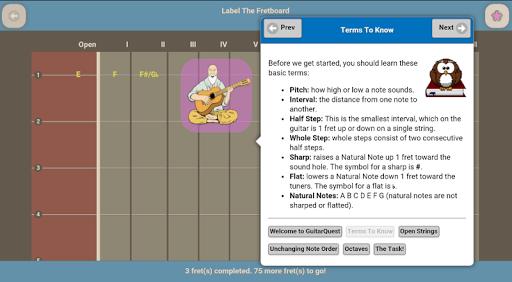 GuitarQuest - screenshot