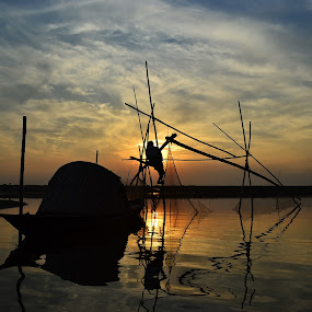 OUR PASSION....THEIR OCCUPATION 2 by Dipankar Singha - Landscapes Sunsets & Sunrises