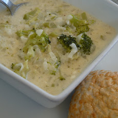 Cream Cheese Broccoli Soup