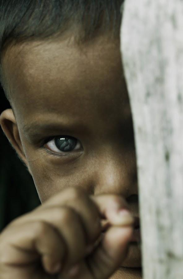 Through the eyes by Charles Liban Jr - Babies & Children Children Candids ( child, boy, portrait, kid, eye )