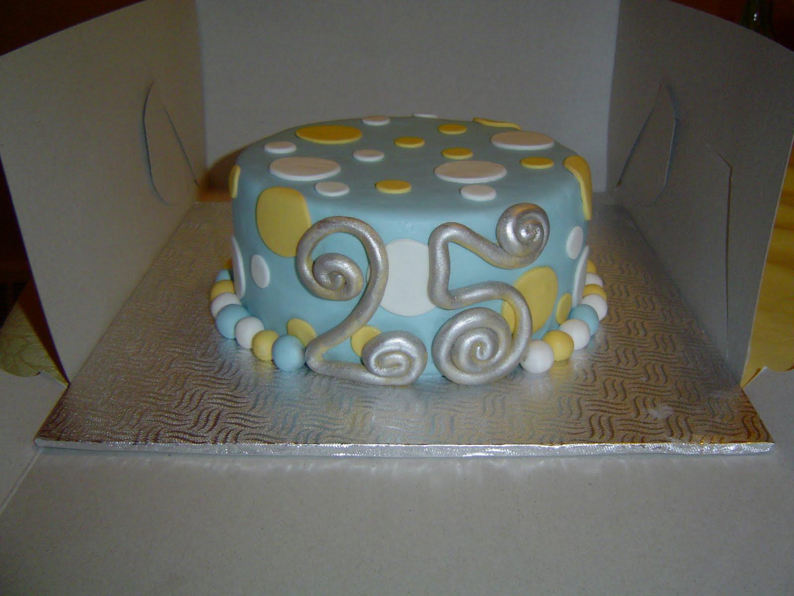 25th Anniversary Cake!
