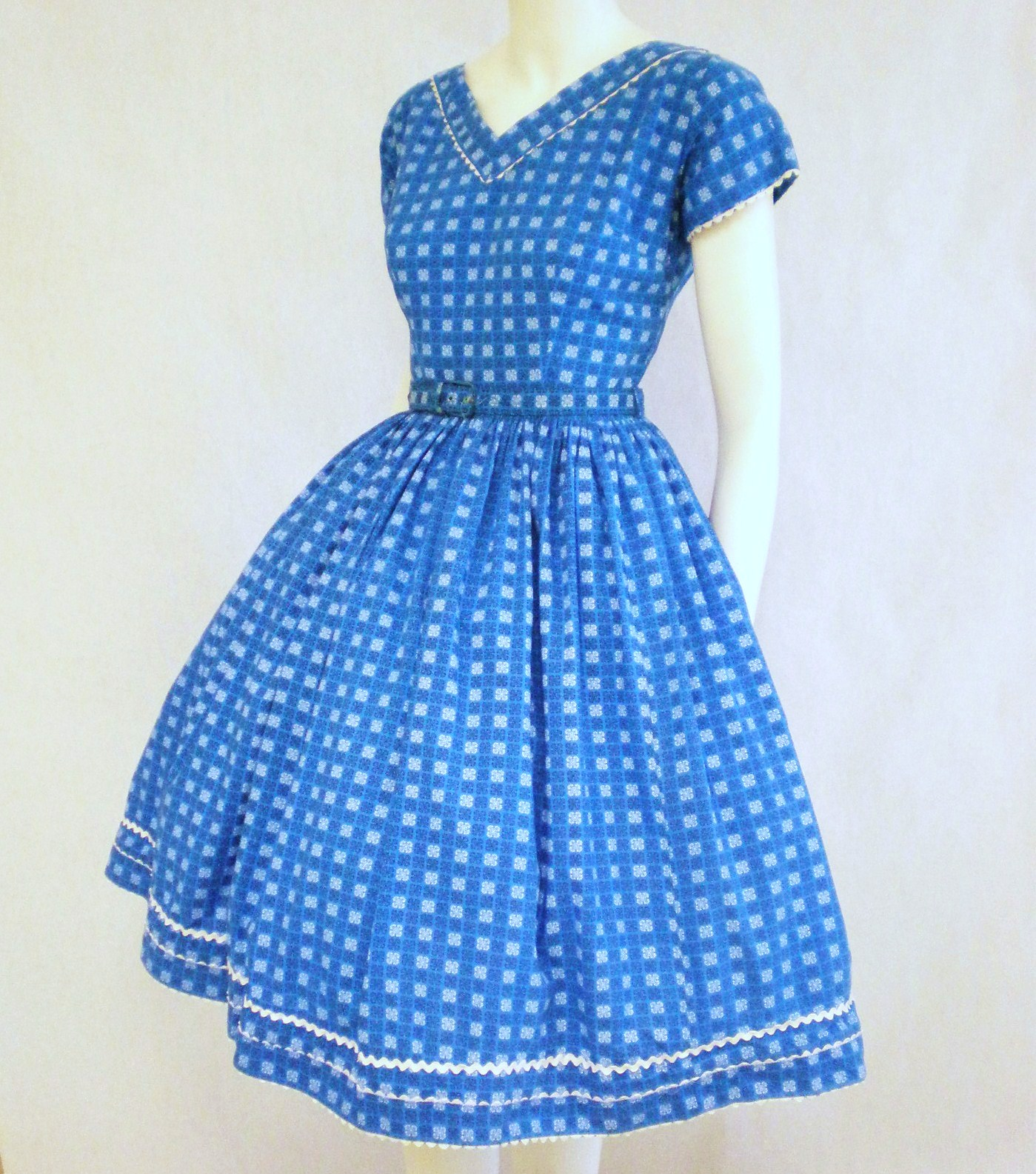 dress from the 1950s was