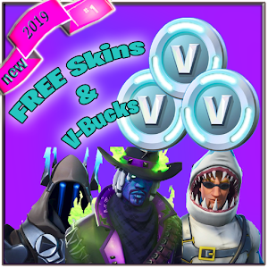 V Bucks & Skins Free V.2.0 2019 For PC (Windows & MAC)