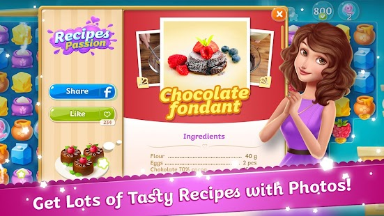 Recipes Passion: Sweet Treats- screenshot thumbnail