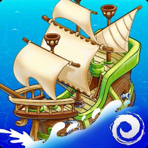 Cover art Pirates of Everseas