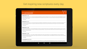 Screenshot of Daily Scriptures