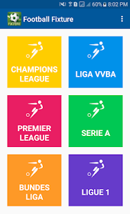 Football Fixture - screenshot