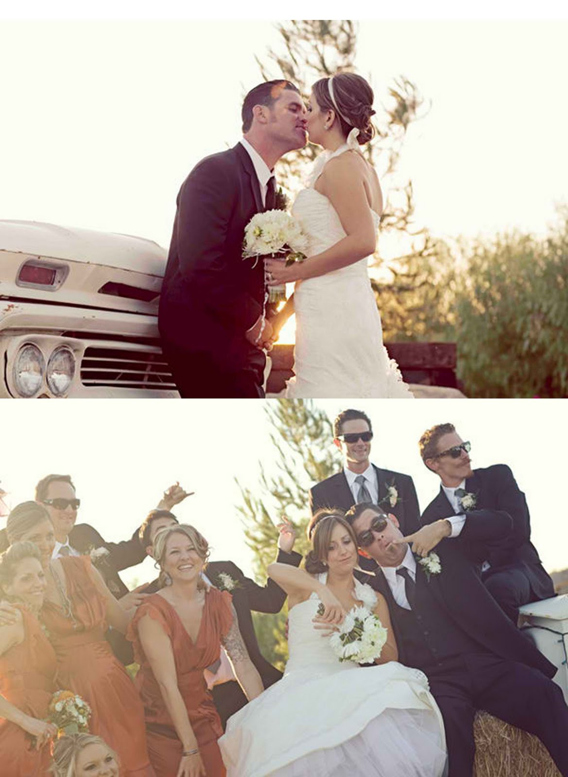 {looooove this wedding