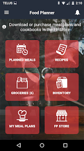 Free Download Food Planner APK for Blackberry