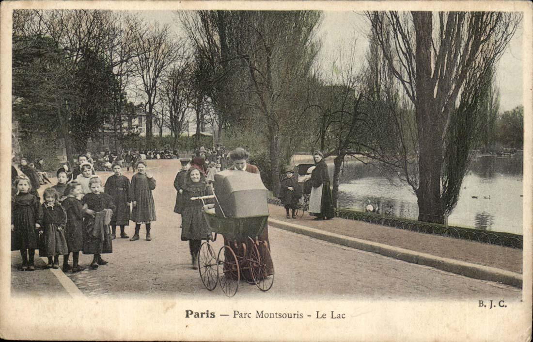 vintage postcards Paris