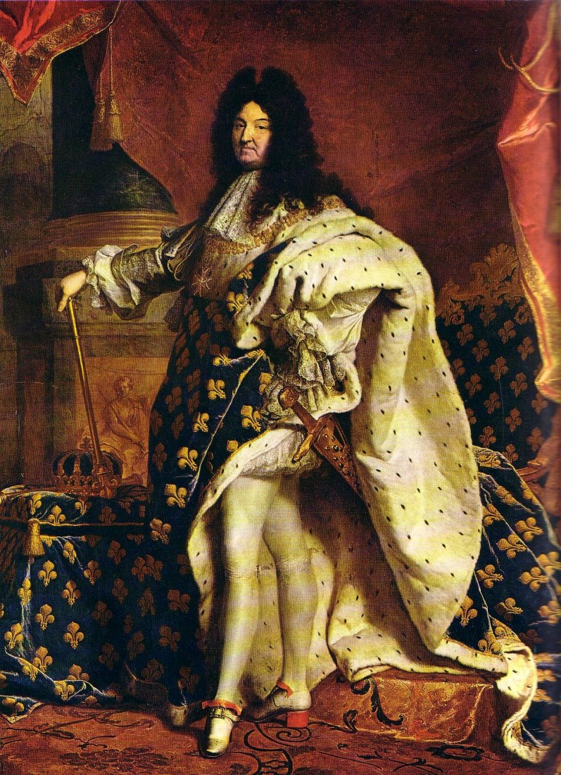 Louis XIV Puts His Best Shoe Forward