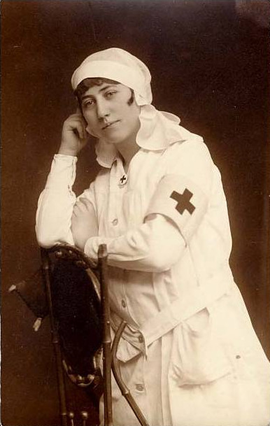 Red Cross Vintage Postcard