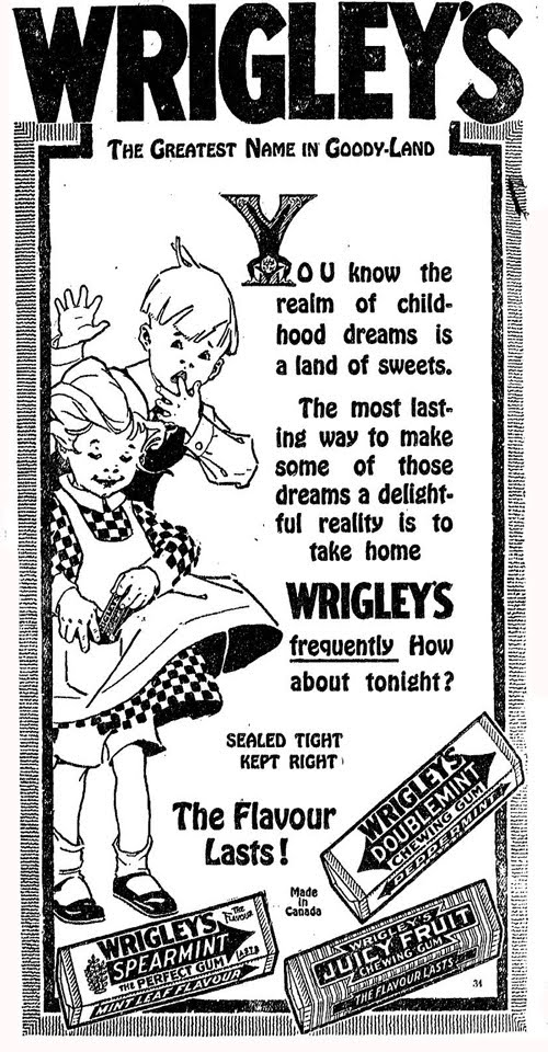 Wrigley's - The Greatest Name in Goody Land