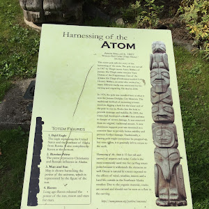 Harnessing of the Atom Totem Pole