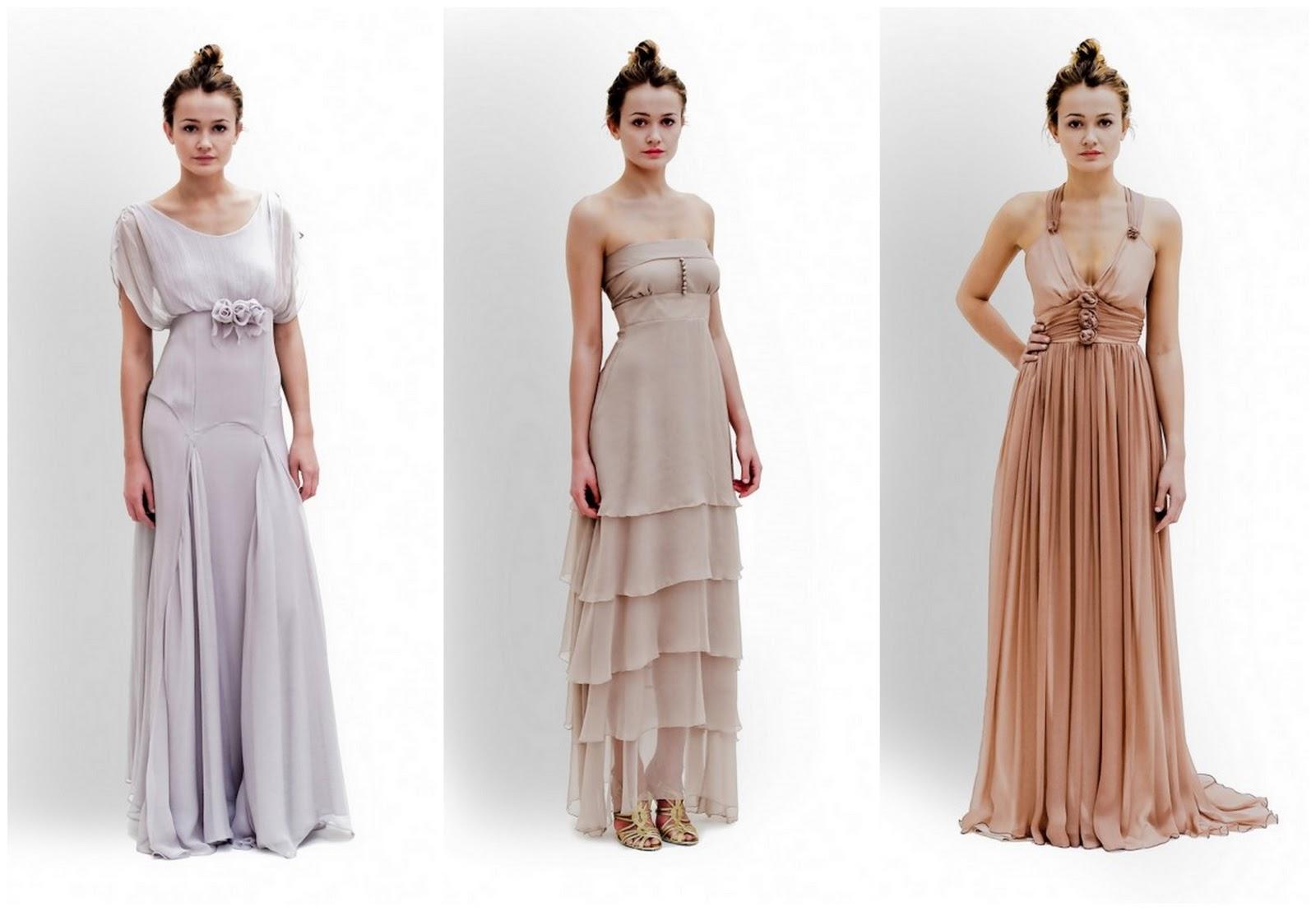 Slinky Wedding Dresses