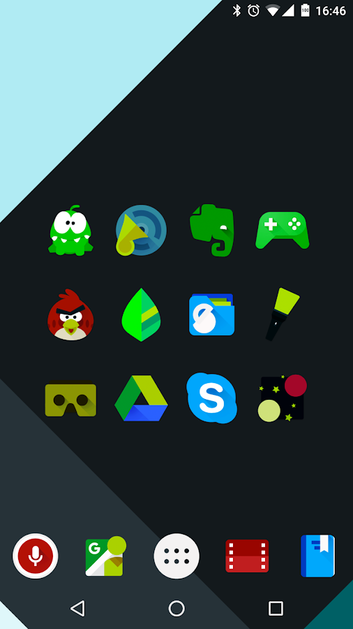 Iride UI is Dark - Icon Pack Screenshot 1