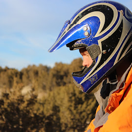 Should I go for it? by Shannon Gillespie - Sports & Fitness Motorsports ( life, outdoor, dirt bike, men, motorsport )