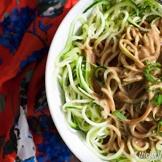 Sesame Ban Mian with Zoodles
